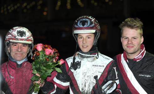 dante kolgjini vann i debuten