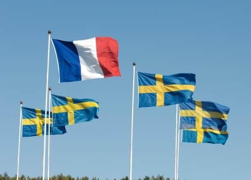 svenska travare frankrike