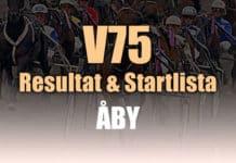 V75 Resultat Åby