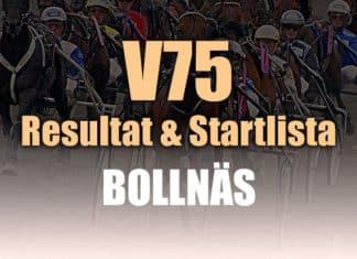 Resultat Startlista V75 Bollnäs