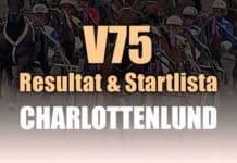 Resultat Startlista V75 Charlottenlund