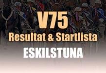 Resultat Startlista V75 Eskilstuna