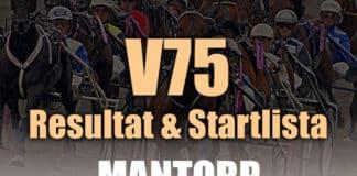 V75 Resultat Mantorp