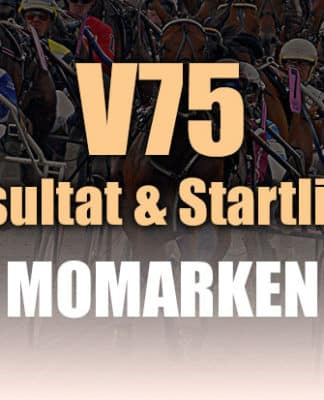 V75 Resultat Momarken
