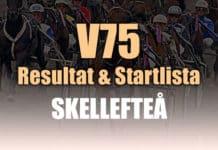 Resultat Startlista V75 Skellefteå