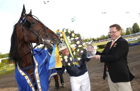Volstead blir ende svensktränade häst i Lotterian
