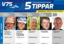 Fem tippar V75 till Solvalla 30 september 2017