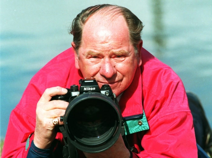 Legendariske hästfotografen Einar Andersson är död