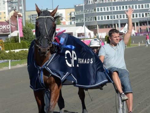 Magnus Träff har hittat vägen till vinnarcirkeln