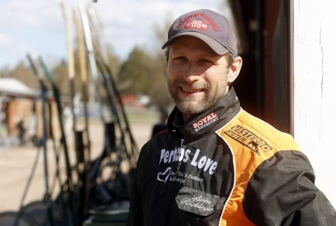 Björn Röcklinger hoppas mycket på Ginotonic