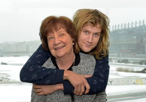 V75 med Matteus och mormor