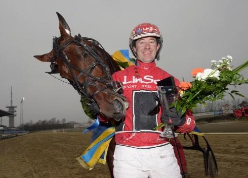 Årets hittills snabbaste häst i Sverige