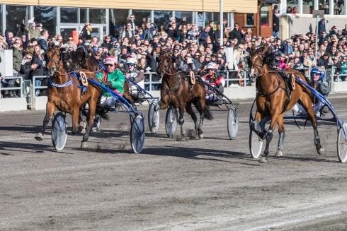 jätteskräll i Klosterskogen Grand Prix