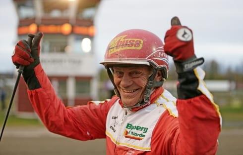 Jan Norberg vann direkt