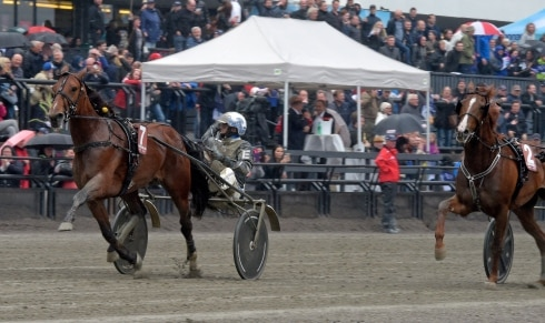 Startspåren till Oslo Grand Prix