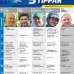 Fem tippar V75 till Bergsåker 25 augusti 2018