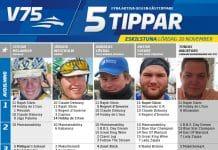 tippar V75 till Eskilstuna