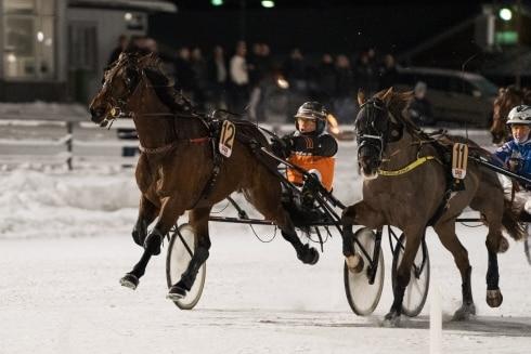 Hanna Olofsson och Ove A Lindqvist dominerade V75