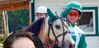 Ponnykusken som blev professionell travtränare
