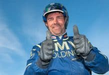 nför V86: Conrad Lugauer har det väl förspänt