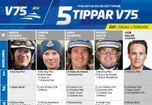 Fem tippar V75 till ÅBY Lördag 1 februari 2020