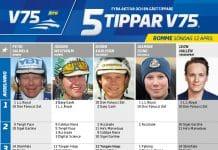 Fem tippar V75 till Romme 12 april 2020