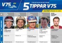 5 Tippar V75 Kalmar söndag 21 juni