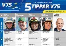 Fem tippar V75 till Östersund 6 juni - NATIONALDAGEN