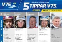 Fem tippar V75 till Axevalla 18 juli 2020