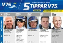 Fem tippar V75 till Bollnäs 25 juli 2020