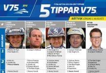Fem tippar V75 till Rättvik lördag 1 augusti 2020