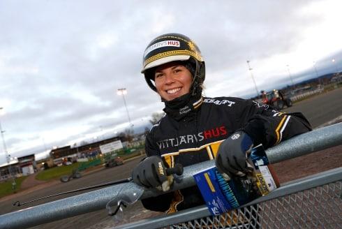 Inför V86®/jackpot: Heta chanser för Sandra Eriksson
