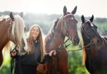 Inför V86: Lina har en häst med humor