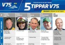 Fem tippar V75 till Örebro 24 oktober 2020