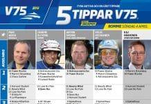 Fem tippar V75 till Romme Söndag 4 april 2021