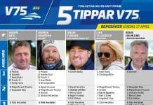 Fem tippar V75 till Bergsåker 17 april 2021