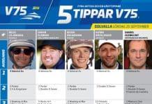 Fem tippar V75 till Solvalla 25 september 2021